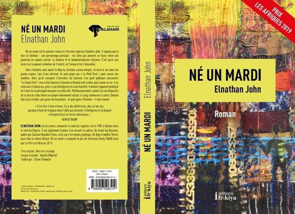 Né un mardi, Edition Ifrikiya Coll. Kalahari