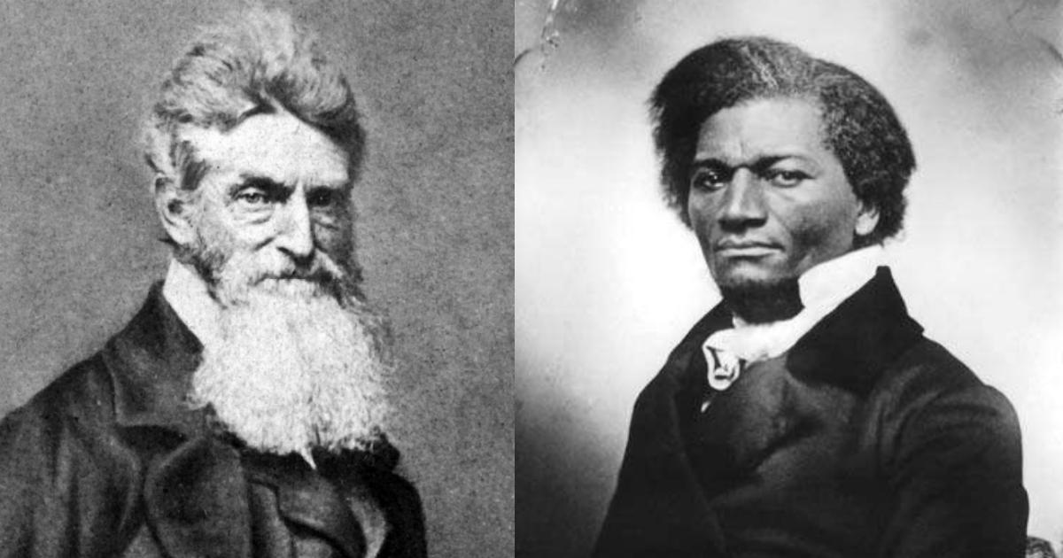 John Brown et Frederick Douglass